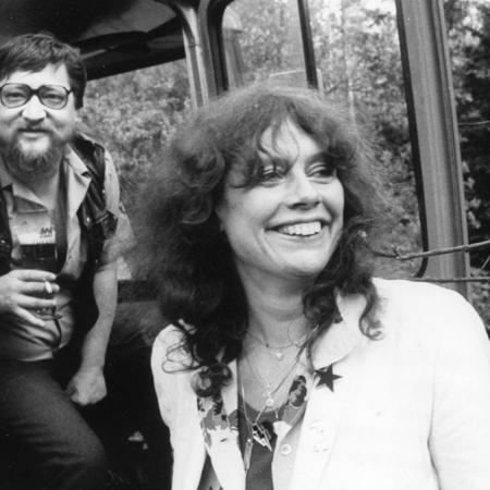 Rainer Werner Fassbinder und Barbara Baum bei den Dreharbeiten zu LOLA (BRD 1981)