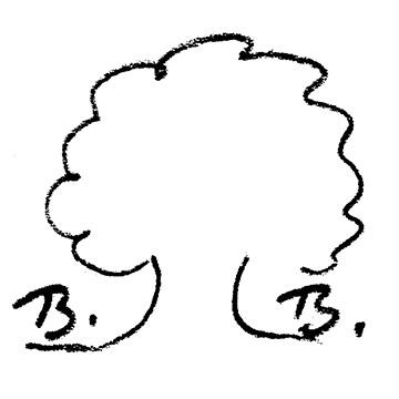 """Barbara Baums """"Bäumchen""""-Signatur"""