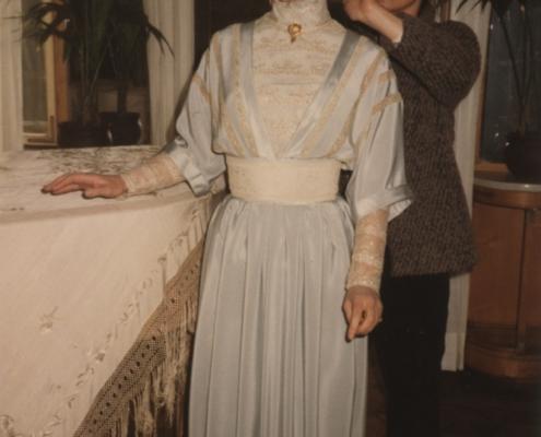 Väter und Söhne: Foto von Julie Christie im eisblauen Kleid