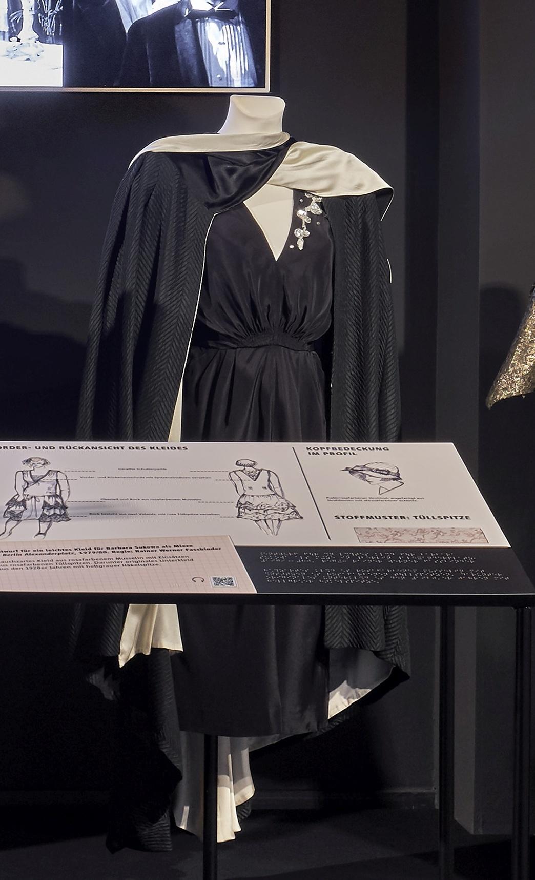 Die Sehnsucht der Veronika Voss: Abendkleid